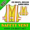 2013 NEW ANSI/ISEA-207-2006 fashion 3M High visibility vest