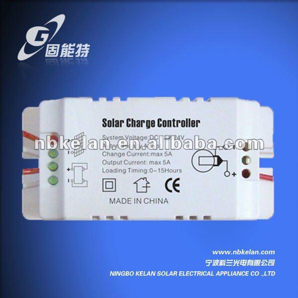 DC12V 5A solar controller