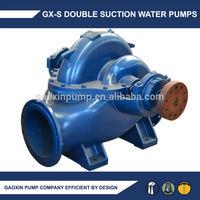 Horizontal split case water pump