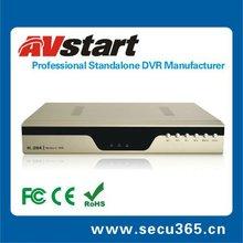 8Ch H.264 TV, VGA, Alarm, PTZ and USB Record embedded DVR