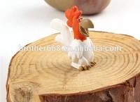 Custom Plastic mini chicken toy Figure,/pvc 3d farm animal figurine toy/injection mold pvc figurine toy