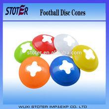 2015 new design round disc cones/football traffic cones/colorful disc cones