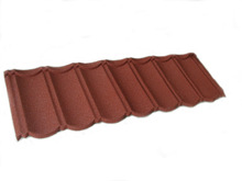 Color stone coated metal roof tile /building construction material