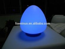 egg shaped mini led mood light /Magic Colorful Changing Egg LED Light/Popular illuminated led light for decoration