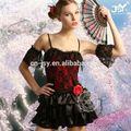 Realiza el vestido barato rojo oriental trajes de danza