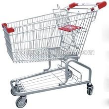 news popular German(JS-TGE01) supermarket shopping cart with low price