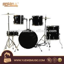 chrome hardware 5 PCS popular Drum Set adult drum kit