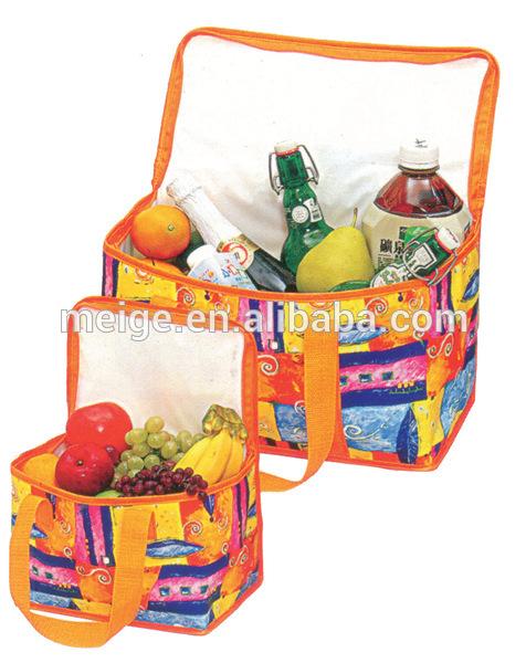 BSCI audit factory pp non woven or ployester cooler bag/picnic cooler bag/wine cooler bag