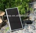 12v de energía solar fuente de agua de la bomba con la batería