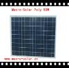 Effective Photovoltaic Solar Panel 50W