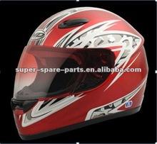 black military motorcycle helmet for racing