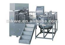 Capelli color crema 1300l vacuum emulsione mixer/liquido detergente shampoo sapone macchina del miscelatore