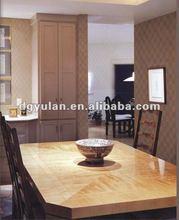 Special Squares Fine Texture Vinyl Wallpaper for Restaurant Decoration
