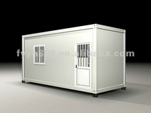 steel structure building durable house 20ft home container