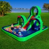 2014 inflatable water slide with pool for kids