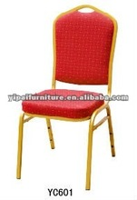 hot sale iron frame banquet hotel chairs YC601