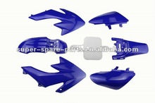 wholesale CRF 50cc dirt bike pitbike ABS plastic body kits motorcycle fairing kit