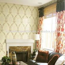 2012 new design velvet multicolored wallpaper