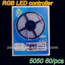 2012 hot!!12V 44 Keys IR Remote Controller for RGB LED Strip SMD 5050 3528 Strip Light