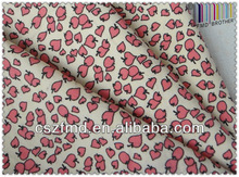 100 Cotton Twill Printed With Hearts Fabric
