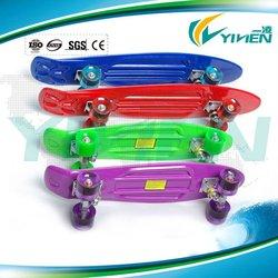 OEM design professional plastic board skateboard