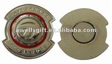 magnet ball marker/magnet golf marker