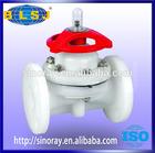 Hot sale PVDF diaphragm valve DN15-300