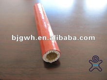 UL approval fireproof hose and cable fire resistant silicone coated fire sleeve