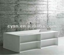 2012 new fashion acrylic bathtub/multifunctional bathtub