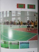 pvc sports flooring for basketball