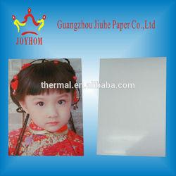 Premium glossy inkjet photo paper