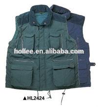 HL2424 sleeveless mens winter vest