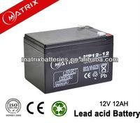 Hot 12V 12Ah Sealed UPS Lead Acid Battery from China Factory