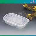 o forno de microondas de plástico transparente caixa de almoço
