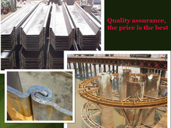 U-sheet pile/Steel sheet pile maintenance