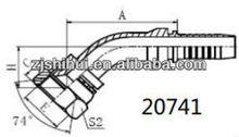 CARBON STEEL 45 GB METRIC FEMALE 74 CONE SEAT HYDRAULIC WINNER EATON STANDARD HOSE FITTINGS