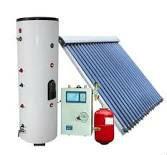 split closed loop heat pipe tube solar hot water system