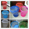 plastic laundry basket with lid