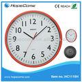 ( hc2312) 12 inç ince promosyon ucuz plastik duvar saatleri