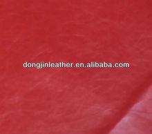 hot sale Crazy horse PU leather for women handbag protfolio luggage belt