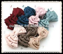 wholesale fashion ribbon decorative hair bow, traditional bow