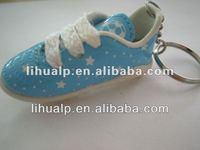 Hot selling!! pvc shoe keyring/keychain