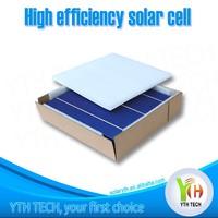 cheap high efficiency b grade 156mm 4.1w visual defect broken polycrystalline solar cell for sale
