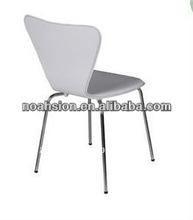 Simple white design bentwood/plywood dining chair
