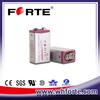 10.8v battery 6f22 1200mAh prismatic cell ER9V U9VL L522 for smoke alarm detector