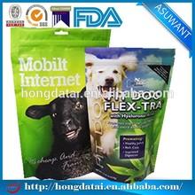 Customized zipper pet food bag made in china