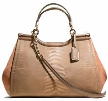 2014 Vogue trendy 100% women's pure cow genuine designer leather handbag EC8263