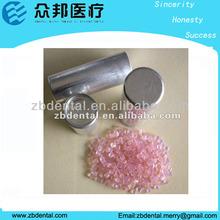 Valplast denture/acrylic material with cartridge