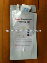 Saliva Alcohol Test paper,rapid diagnostic paper for saliva alcohol test