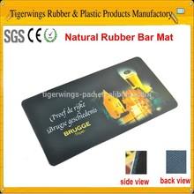 2015 custom rubber bar mat/rubber bar counter mat
